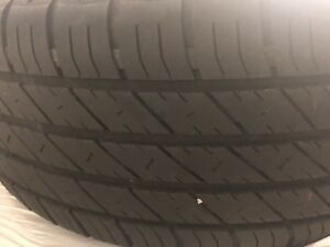 All season tires and rims
