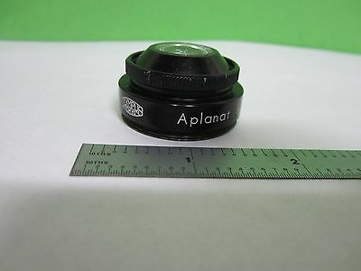 Microscope Part Olympus Japan Condenser Lens Optics As Is Bins1-l-07