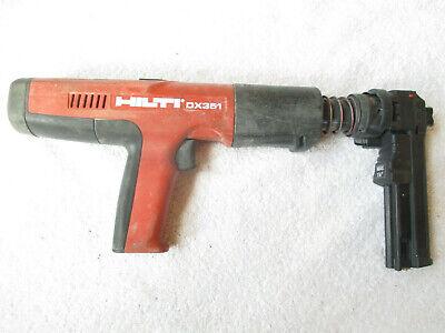 Hilti Dx 351 Powder Actuated Fastener Fastening Tool Gun Nailer X-mx32 Magazine