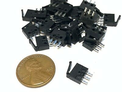 20 Pieces- Nc No Microswitch Mini Small Micro Limit Switch Lever Camera A15