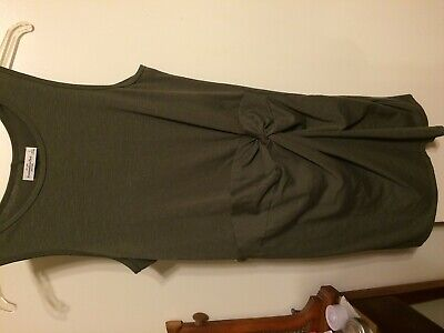 WOMEN'S CLOTHING/ DRESS/ ABERCROMBIE &  FITCH/ NEW WITH TAGS/ OLIVE GREEN/ LARGE