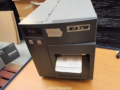 """SATO CL408E Parallel Thermo Label Drucker REWINDER 203dpi 4.1"""" 104mm - 9329.1 M"""