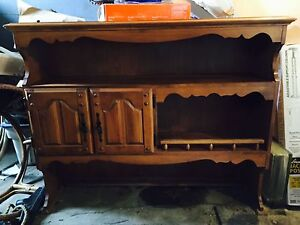 Hutch for kitchen or dining room