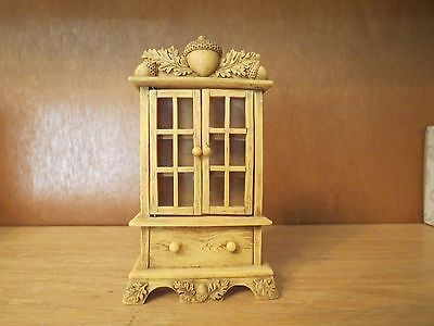 Charming Tails Mini Curio Cabinet with Box