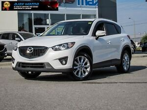 INCLUDES FREE SNOW BLOWER | 2015 MAZDA CX-5 GT AWD | TECH PKG