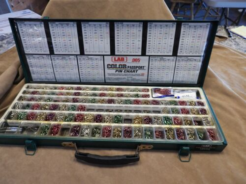 Lab Color Passport Pin Kit  .005 Metal Case LMK005