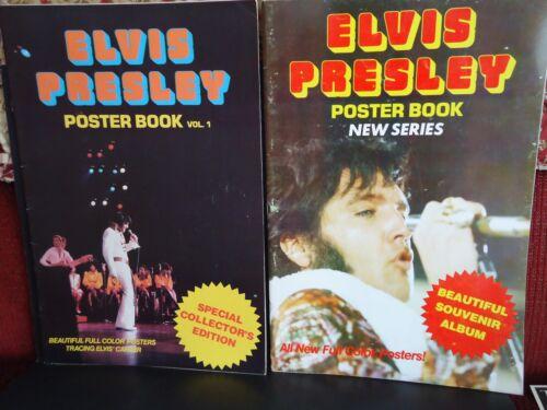 ELVIS PRESLEY POSTER Books   1977 S/C