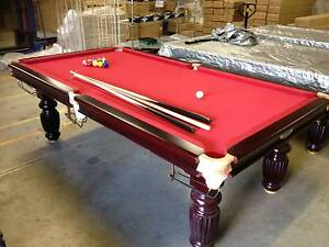 POOL TABLE LUXURY SLATE NOT CHEAP MDF CHIPBOARD! Adelaide CBD Adelaide City Preview