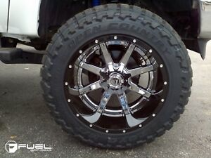 """ISO 20x12.5 Rims with 33"""" Rubber"""
