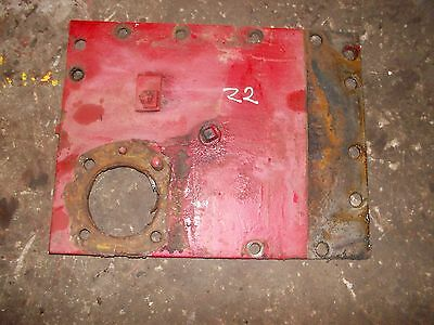 Massey Harris 22 Tractor Original Mh Rear Plate To Hold Pto