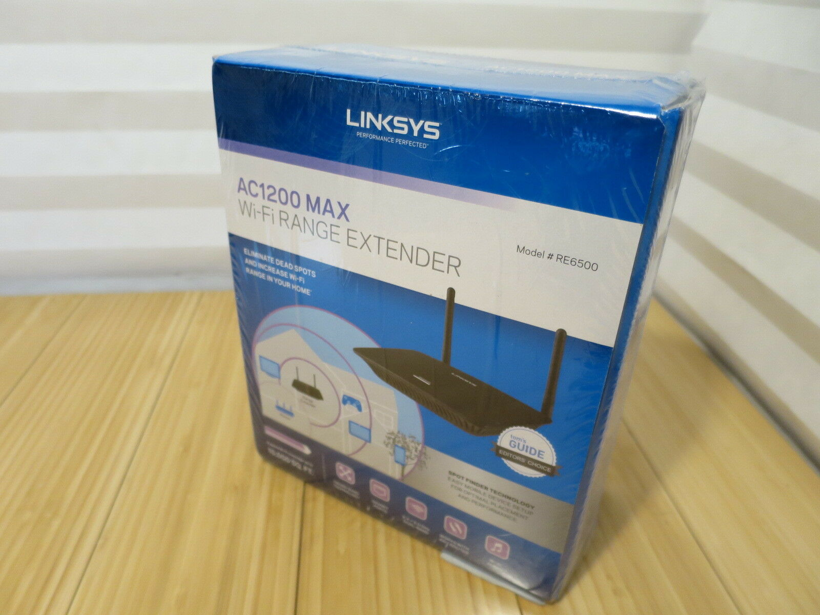 Linksys AC1200 MAX Wi-Fi Gigabit Range Extender & Repeater