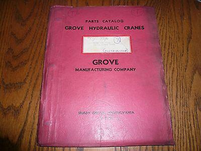Grove Hydraulic Cranes Parts Catalog - Model 688 Ffwce