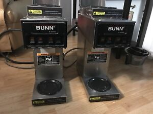 BUNN S séries commercial coffee makers.