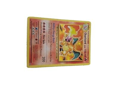 MINT CHARIZARD HOLO RARE POKEMON CARD XY EVOLUTIONS SET COLLECTION 11/108 FOIL