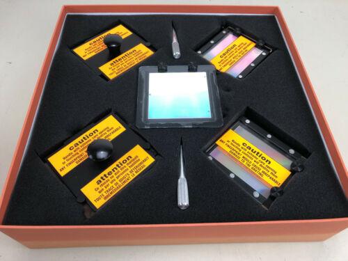 Five Jobin Yvon Horiba Optical Gratings -- Raman Laser Spectrometry