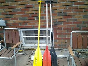 Canoe paddles rugged construction made in USA