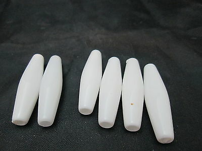 Разное Traditions Synthetic White Pipe Beads