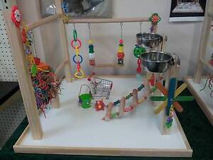 """New Parrot Play Gym """"The Whopper - Chunky"""" size dia 22mm Perches Christies Beach Morphett Vale Area Preview"""