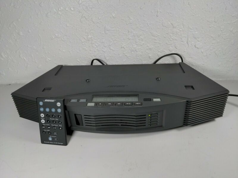 Bose Acoustic Wave II Music System Multi-Disc 5 CD Changer Graphite Grey