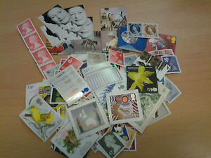 £500 stamps for postage (all with gum)