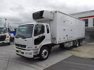 2011 Mitsubishi Fighter 2427 6x2 12 Pallet Fridge/ Freezer Truck Old Guildford Fairfield Area Preview