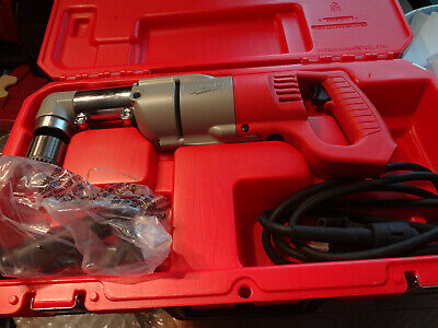 Milwaukee 1107-1 12 Right Angle Drill Wcase