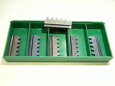 Toolflo Carbide Thread Mill Inserts Ti15n-4acme-ie Grade Zs3b Qty. 6
