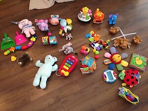Giant lot of baby toys