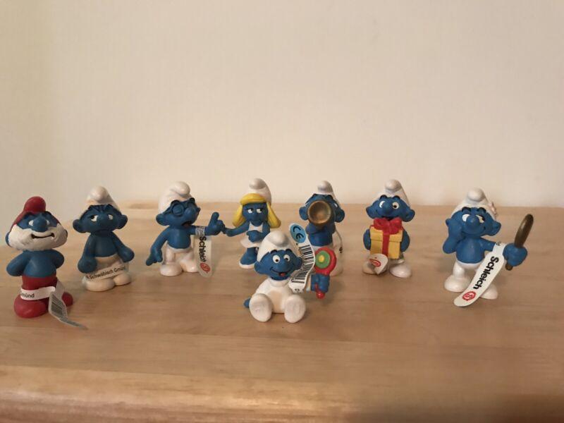 Smurf Figures 2005 Classic Smurf Set