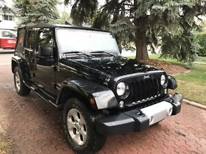 2014 JEEP WRANGLER UNLIMITED SAHARA AUTOMATIC