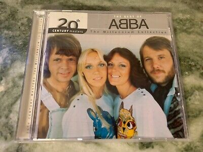 ABBA: 20th Century Masters Millennium Collection Best ABBA GREATEST HITS CD