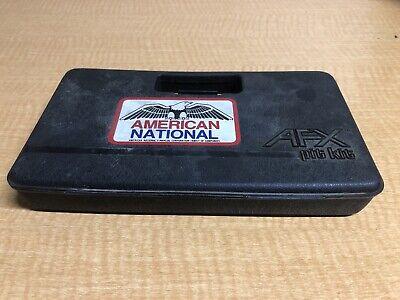Vintage AURORA AFX Model Motoring Pit Kit Carry Case Slot Car Race Tool Box B