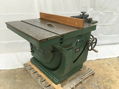 Oliver 16 Sliding Table Saw Model 260 Twin 5-hp Motors Rack And Pinion