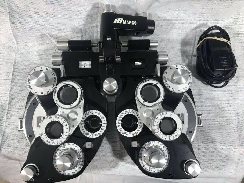 Marco RT-700 Illuminated Refractor, Minus Cylinder