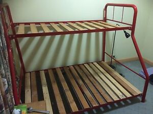 Trio bunk bed, and optional mattresses. Highton Geelong City Preview