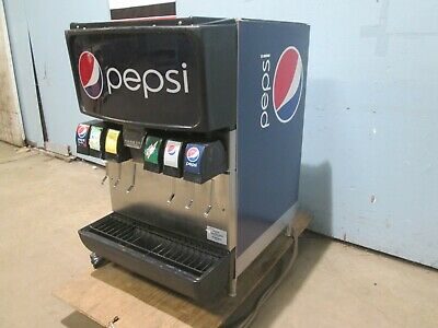 Cornelius Md150 H.d. Commercial Lighted 6 Heads Counter Top Soda Dispenser