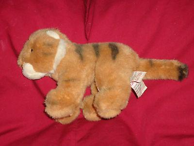 """WWF Gund Plush 7"""" Baby Tiger Cub Toy Cat Kitten World Wildlife Fund"""