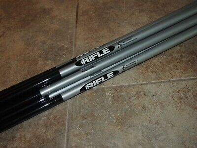****** RIFLE 75G STIFF FLEX GRAPHITE SHAFTS 3-PW -370-NEW- ******