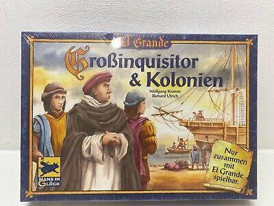 Großinquisitor und Kolonien Erweiterung zu El Grande Spiel des Jahres 1996 OVP