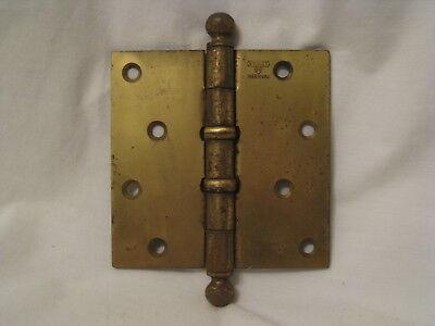 antique Stanley SW Heart ball tip hinge  4.5