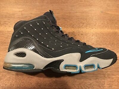fc506c18f4 2011 Nike Air Griffey Max II 2 Anthracite/ Wolf Grey Men's Size 10