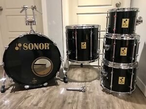 Drum batterie Sonor made in Germany Force 3000