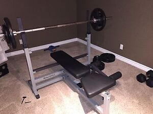 Body Solid Bench Press Statiom