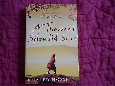 A Thousand Splendid Suns by Khaled Hosseini (Paperback, 2007) for sale  Banbridge