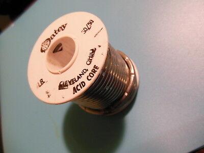Acid Core 5050 Solder 18 Dia 1 Lbs. Oatey