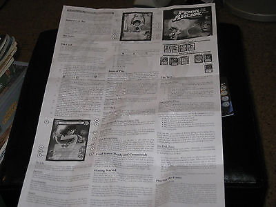 Penny Arcade Card Game Fantasy Flight Two Pre-constructed Decks Near Mint W W - $2.99