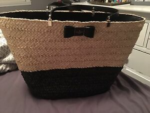 Kate Spade wicker bag