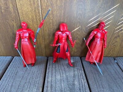 "Star Wars The Black Series Elite Pretorian Guards Loose x3 - 6"" Used"
