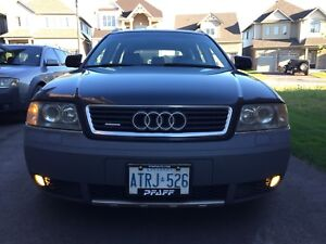2004 Audi Allroad Quattro 6 Speed Manual