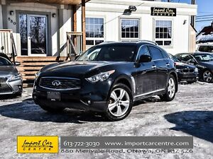 2011 Infiniti FX35 NAV & DELUXE TOURING PKG COOLED SEATS 360 CAM